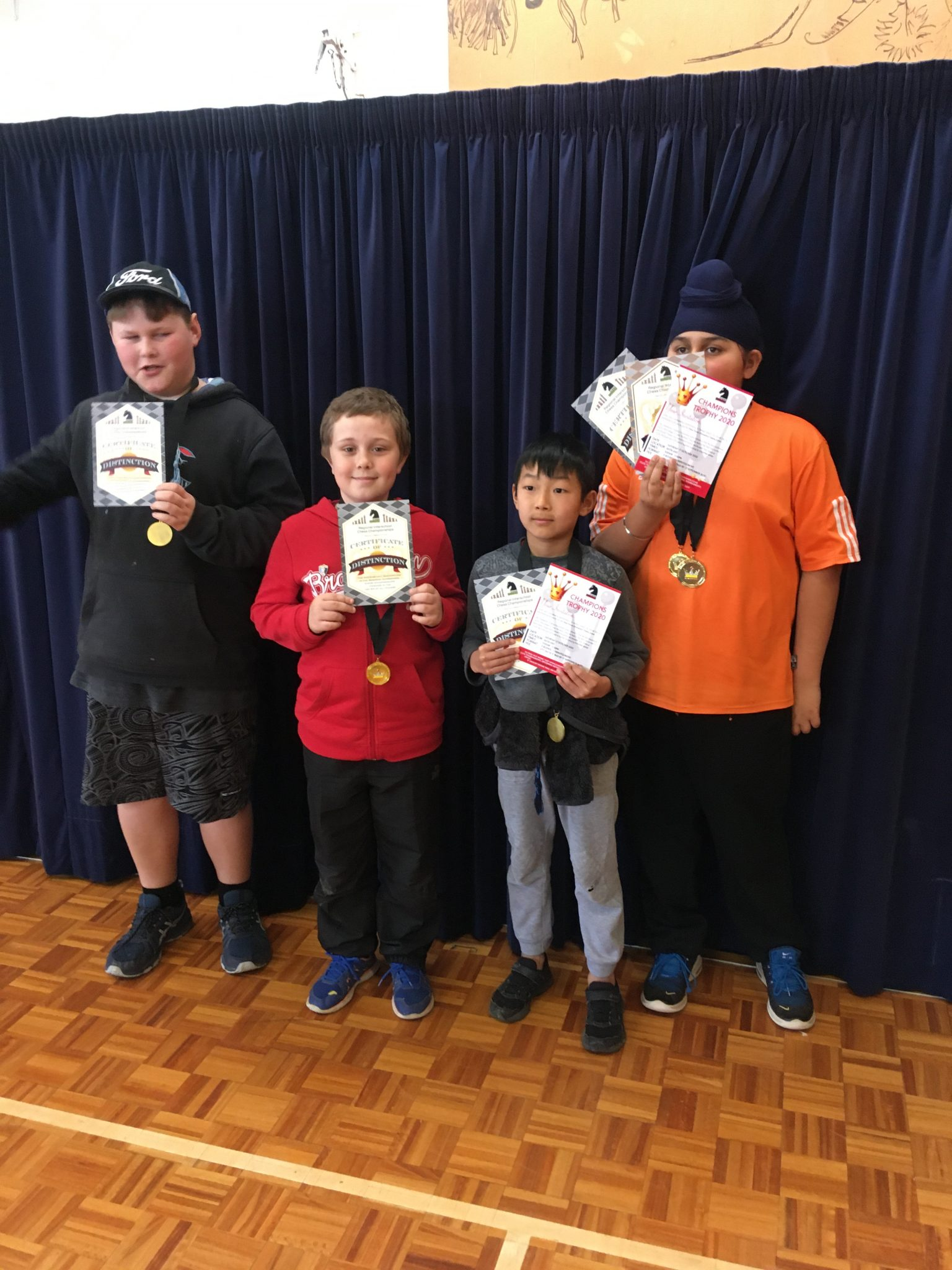 Chess Nationals, Levin East School